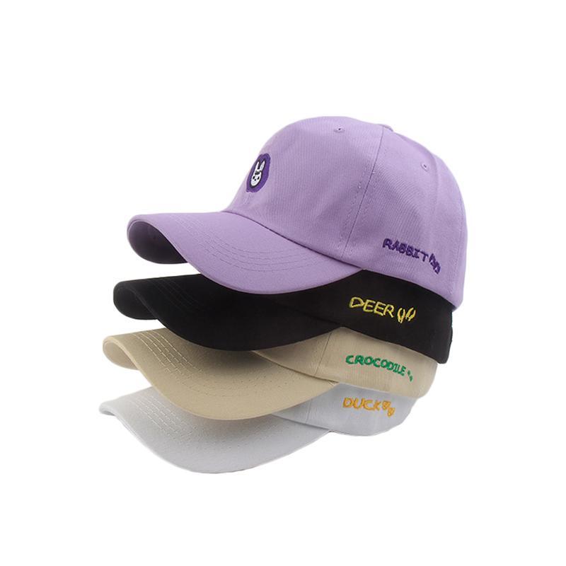 Животное Snapback Cap Вышивка свинья олень льва утка хип-хоп шляпа для мужчин и женщин Открытые крышки для детей и мальчиков бейсбольные шапки TG0044