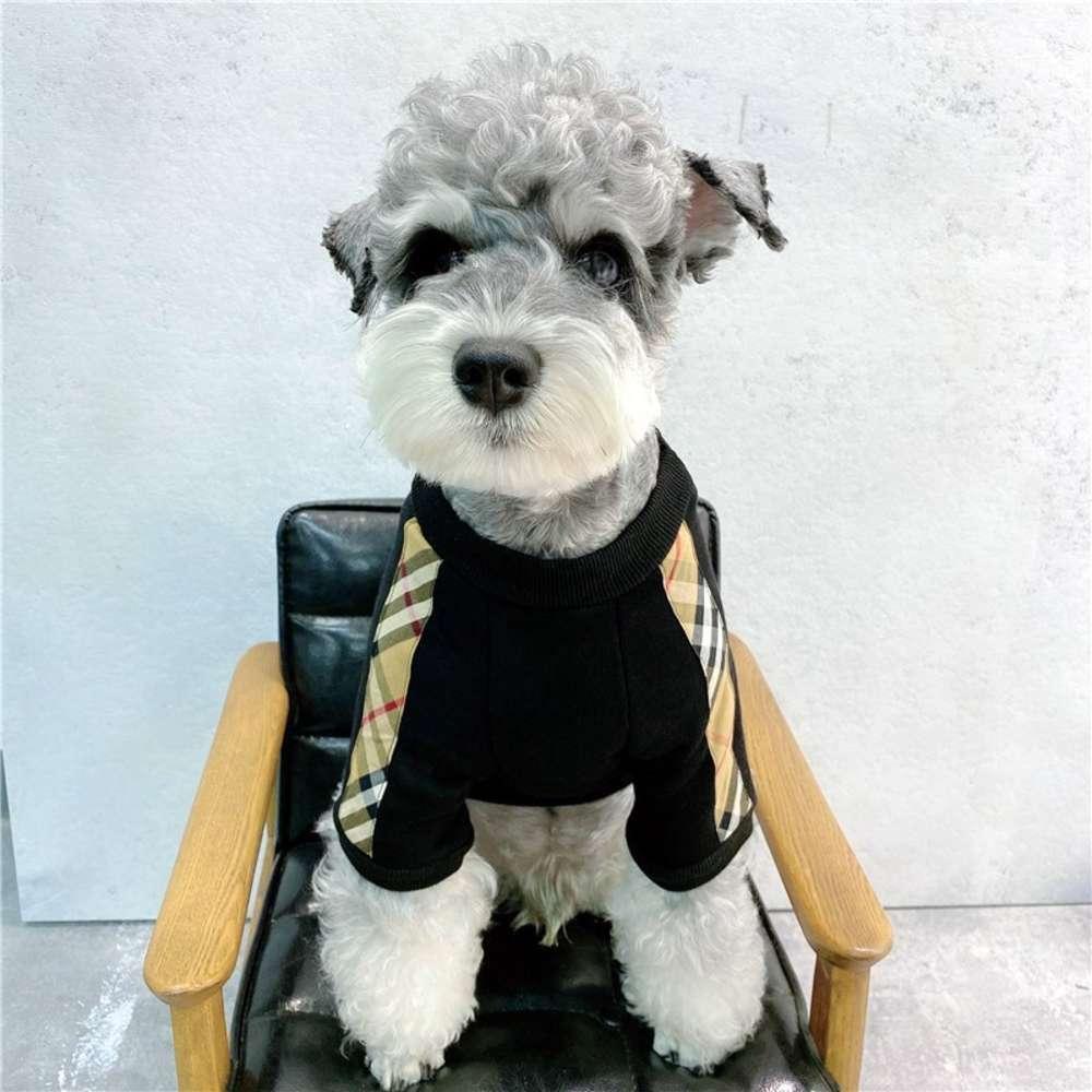 Собака одежда маленькая собака домашнее животное мода бренд зимняя одежда Teddy Kirky Schner Fight Cat одеждает чистый красный свитер