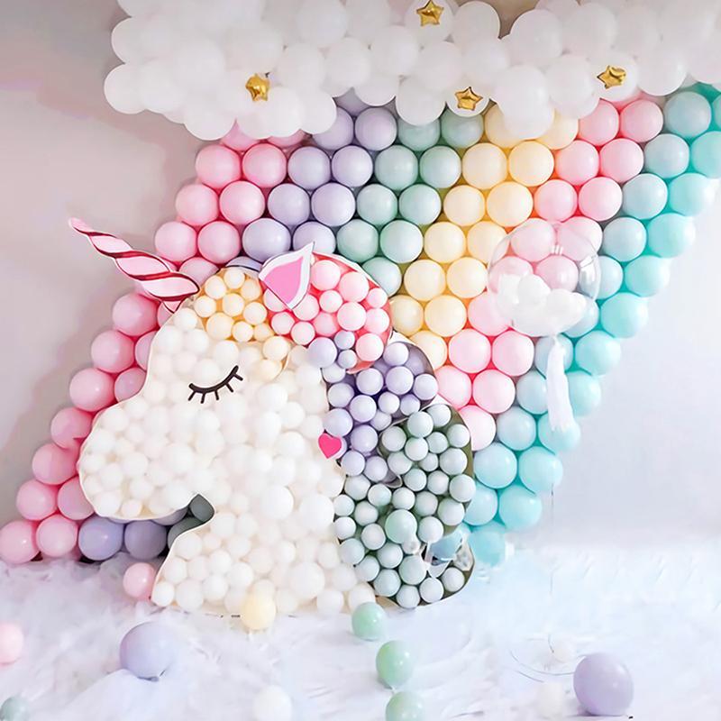 12 인치 마카롱 풍선 캔디 컬러 라텍스 풍선 생일 파티 크리스마스 웨딩 장식 베이비 샤워 헬륨 Baloon
