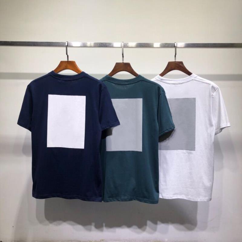 Topstoney Kısa Moda Mektup Hop Kazak Rahat Gömlek Erkek Streetwear Boyutu Hip T O-Boyun Sleeve Cyberpunk 3 Renkler Baskı M-XXL Bochk