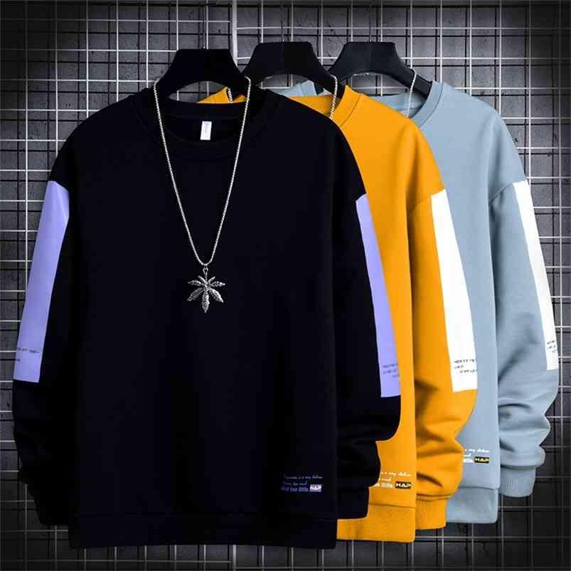 Hommes Sweats Casual Sweatshirts Harajuku Sweats à capuche surdimensionné Sweat à capuche Sweetwear Springwear Spring Automne Hip Hop Hoodies Pull Hommes Vêtements 210728