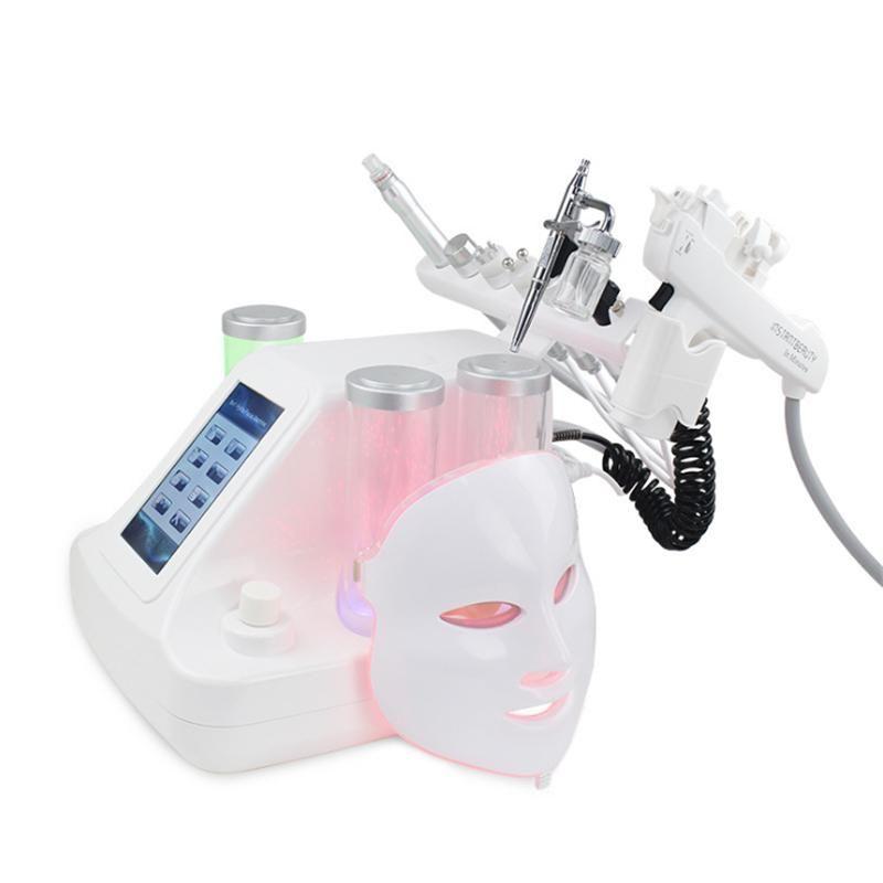 7 In 1 Hydrafacial Dermabrasion Machine Aqua Peeling Vacuum Face Pore Cleaning Skin Rejuvenation Water Oxygen Jet Hydro Microdermabrasion
