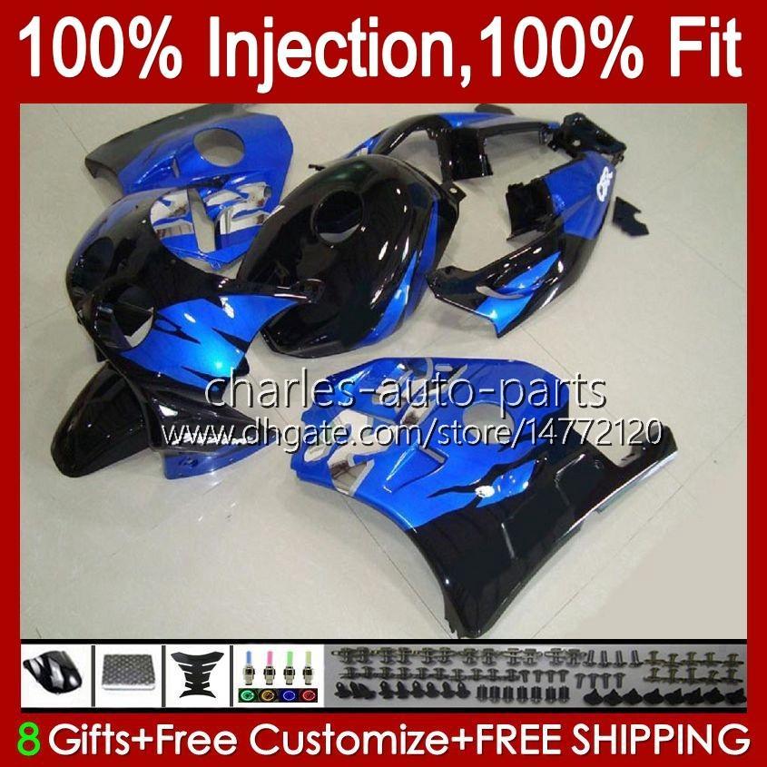 Injectie voor HONDA CBR 250RR 250 CBR250 CC RR 1990 1991 1992 1994 1995 96 97 98 99 111HC.19 MC22 250CC CBR250RR 90 91 92 93 94 95 1996 1997 1998 1999 Verkrijgen van glanzend blauw