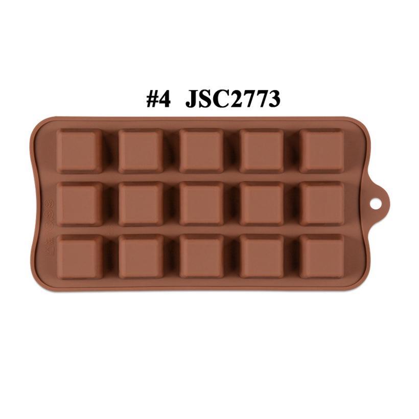 Çikolata Kalıpları Silikon Sıcak Kakao Bombaları Kalp Kalıpları Için Çikolata Şeker Kalıpları Silikon Şekiller Festivali Düğün Partileri için Silikon Şekiller JSC276805