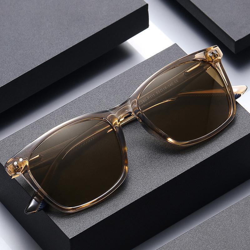 2021atticus Store New Polaroid Mirror Fashion Occhiali da sole retrò per uomini e donne TR3399 Classic Spiked Glassy