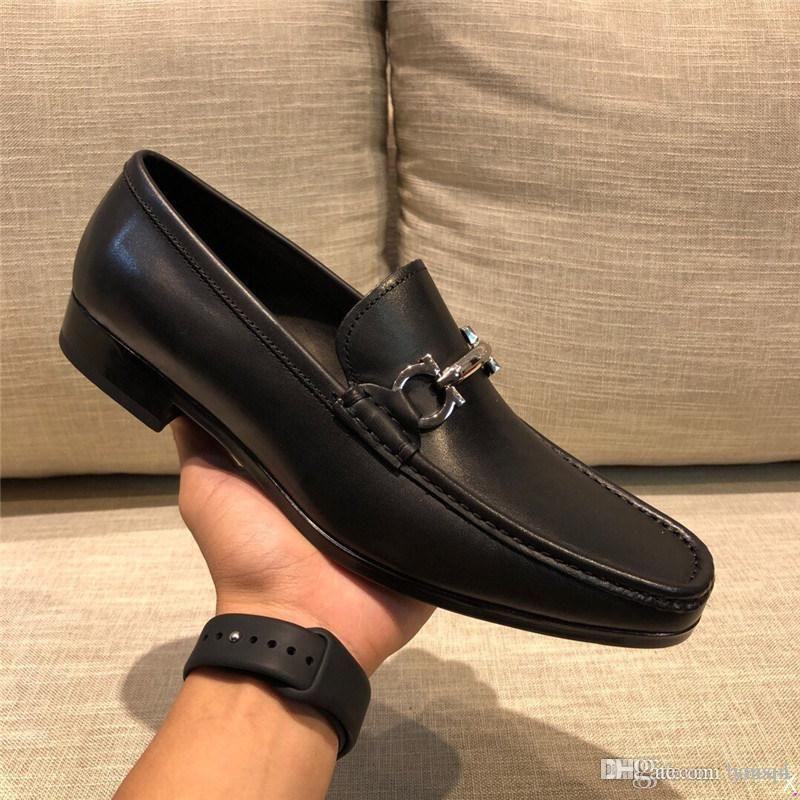 MM Luxury Hommes Véritable Wingtip En Cuir Oxford Mothed Toe Lacets Up Oxfords Designer Robe Sucus Brogues Business Business Platform Chaussures 33