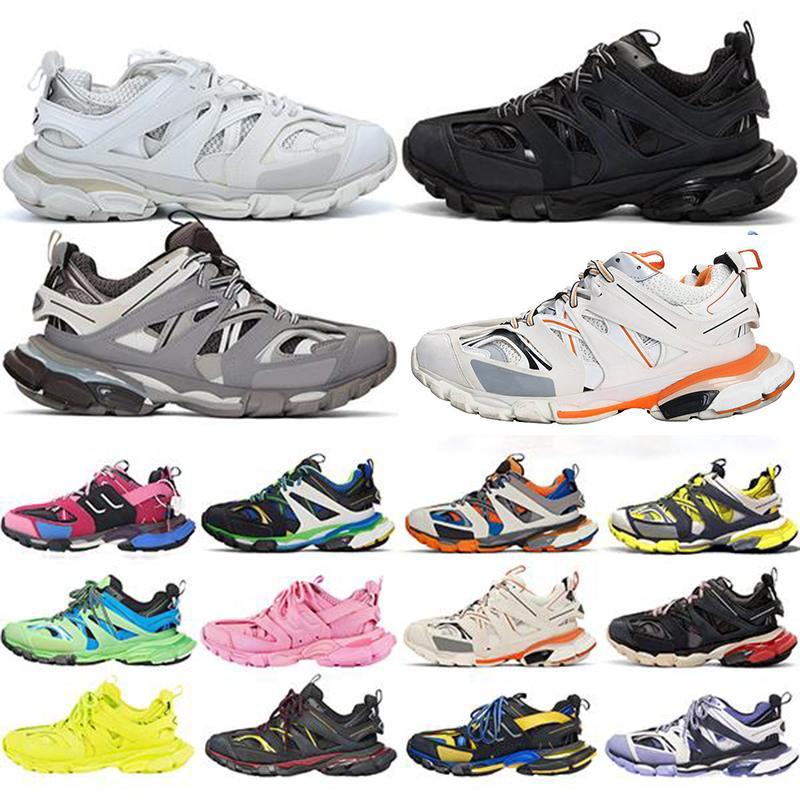 Paris 2020 Tess S Parça Erkekler Siyah Beyaz Pembe Turuncu Mavi Kadınlar Için Üçlü S Clunky Sneaker Rahat Ayakkabılar Koşu Tasarımcısı Spor Ayakkabı