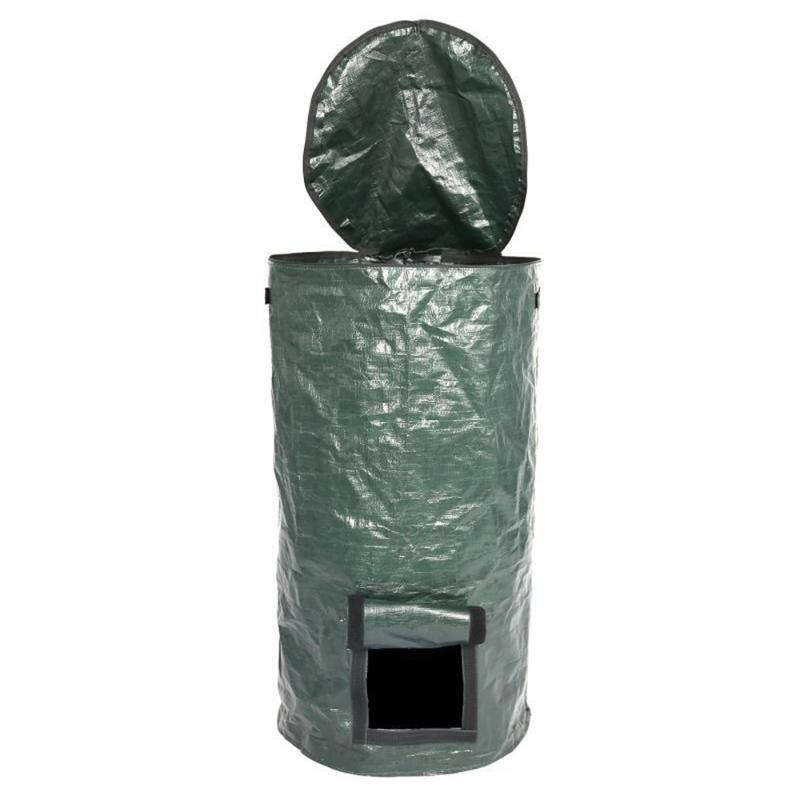 Planters & Pots Organic Waste Kitchen Garden Yard Compost Bag Environmental PE Cloth Planter Disposal