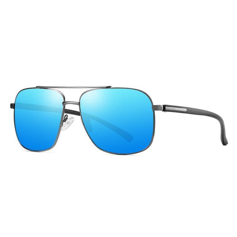 Мужчины Солнцезащитные очки Поляризованные Качество Роскошные Высокие UV400 Цвета Солнцезащитные Освещения Дизайнер Мужская 5 Водительская линза 202143-2 Beevn