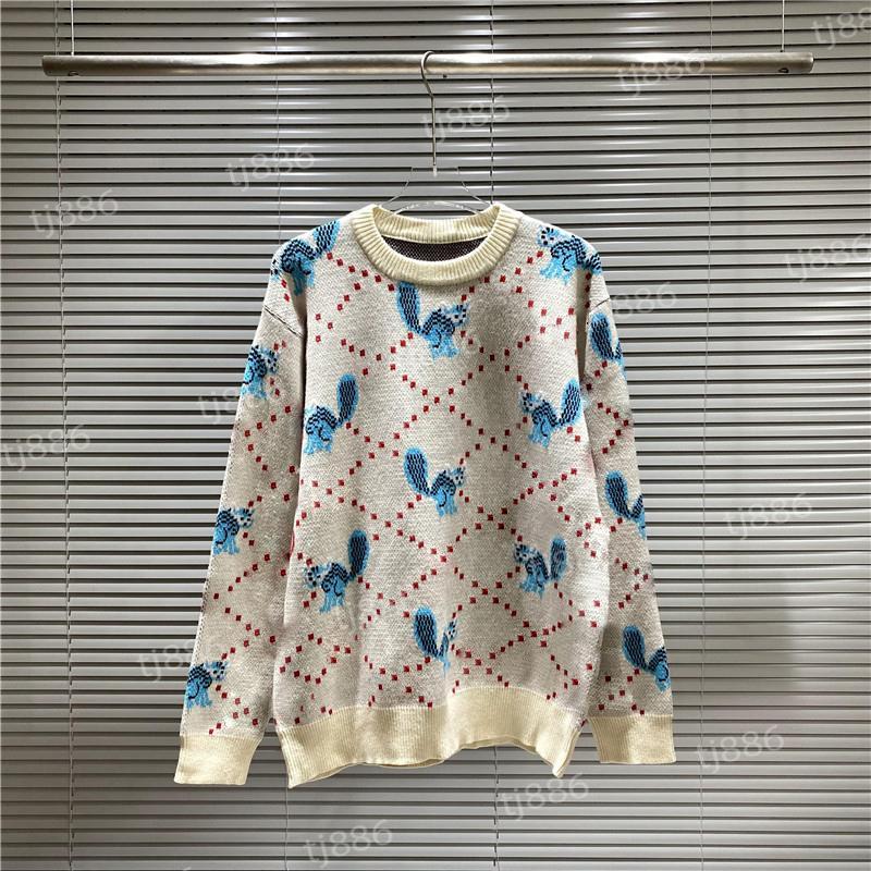 Designer camisola homens mulheres sênior lã clássico lazer multicolor outono inverno quente confortável casaco top3 alta qualidade pulôvers