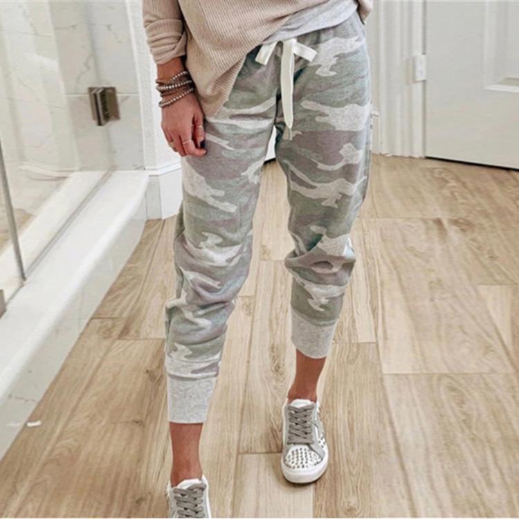 Женские брюки CAPRIS Женские грузовые брюки повседневные камуфляжные стритвальки бегуны высокие талии свободные спортивные штаны