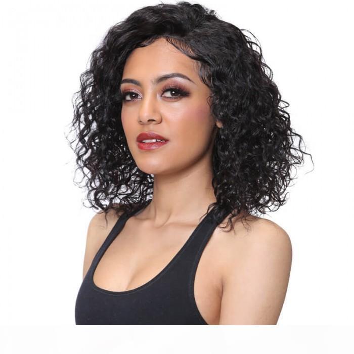 Bettyou Последнее сказочное очаровательное среднее волнистые кружева передние 100 человеческих волос сырые девственницы полное кружева натуральные волосы с детскими волосами