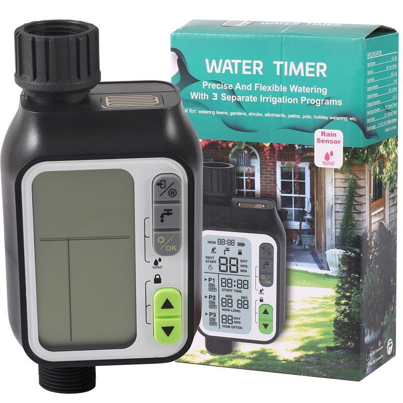 Waterproof Watering Timer with Rain sensor Irrigation Timer Water Level Sensor Automatic Watering SystemIrrigation Controller