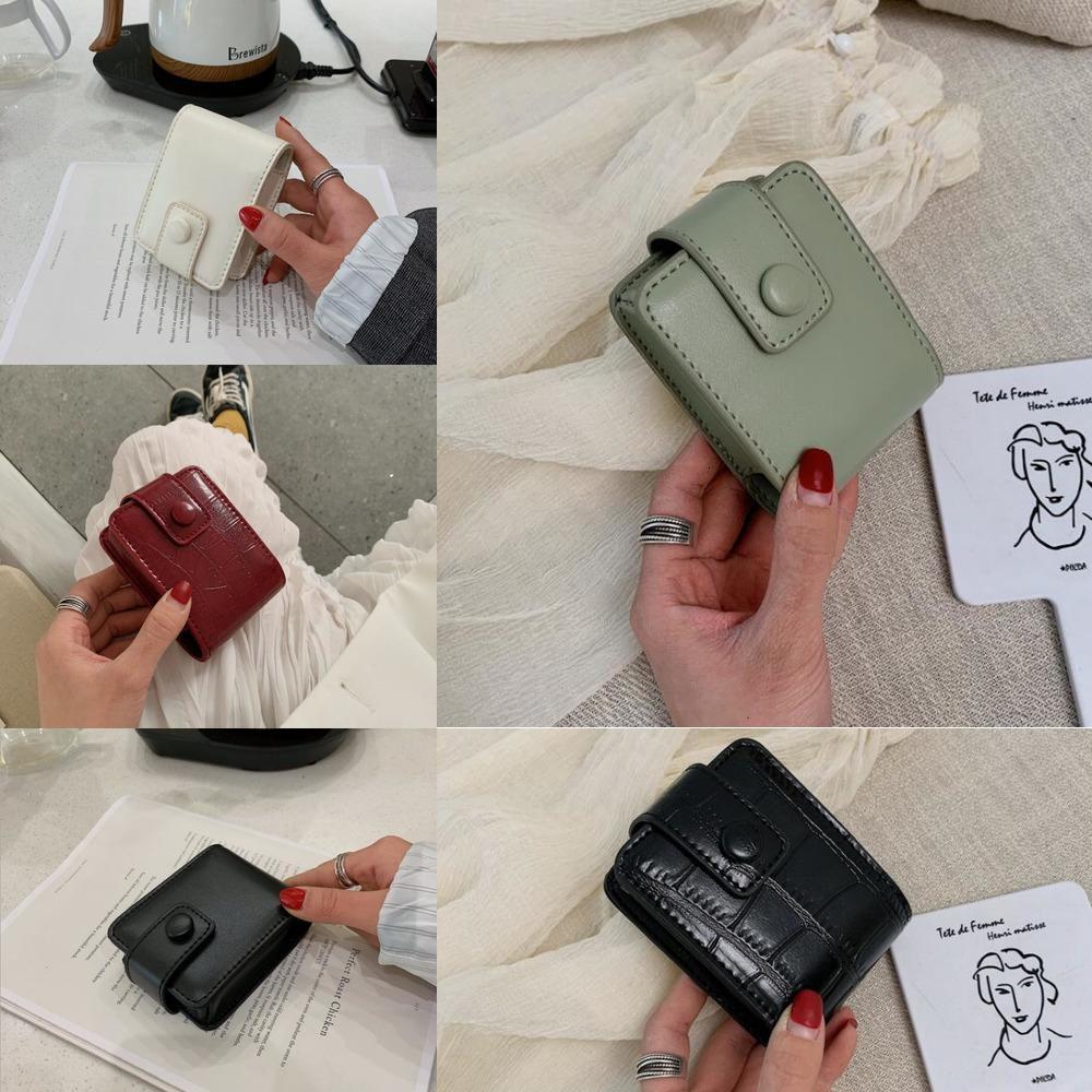 g Portable Makeup Lipstick Bag Rouge Bags Mirror Multifunctional Bags Mini Capacity Cosmetics Storage Bag sea shipping GWB4739 I9NW
