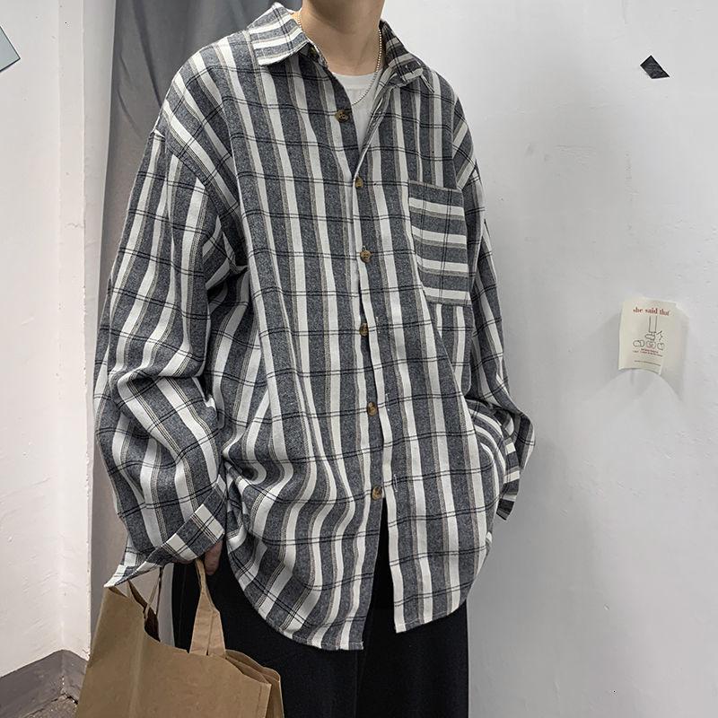 Новый 2021 Мужская уличная одежда Camisa Социальная Мулькайский Гавайские Длинные Рубашки Рубашка Французская Манжета Мужская Одежда Мода Рубашки M-2XL RAWW