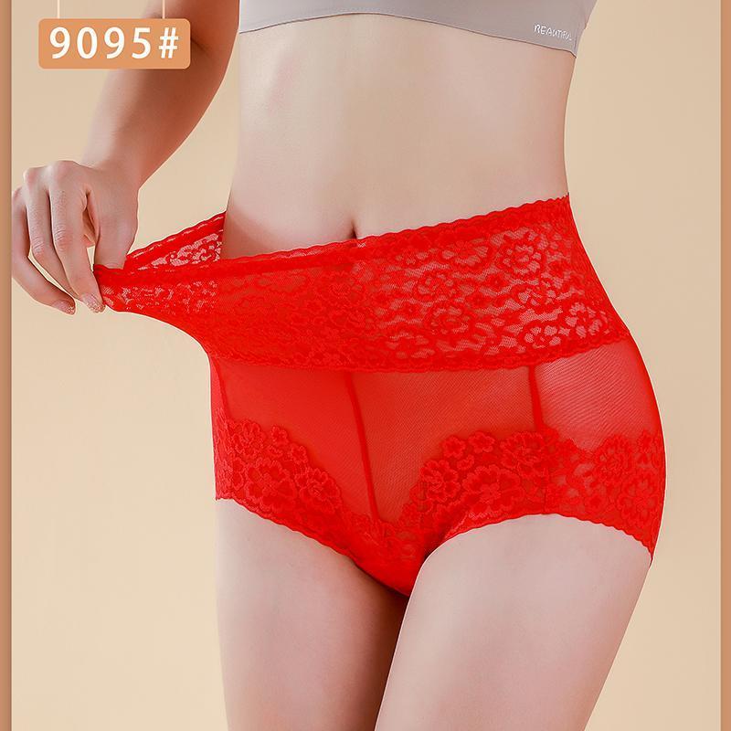 Yeni Bayanlar Rahat İç Çamaşırı Büyük Boy Antibakteriyel Nefes Iç Çamaşırı Spandex Kumaş Süper Streç 9095