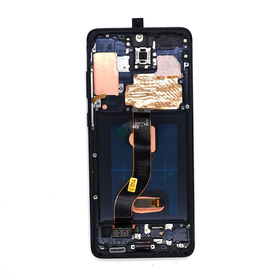 Pantalla LCD para Samsung Galaxy S20 Plus G985 AMOLED PANTALLA AMOLED PANELES TOTALES MONTAMIENTO Digitalizador con marco negro