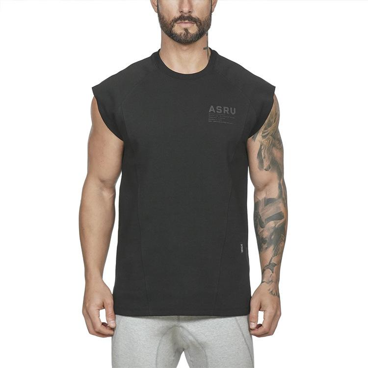 Men Tees Summer New Men's Tshirt Active Loose Large Size Quick Drying Sports Crew Neck Short Sleeve Men's Fitness T-shirt 2021