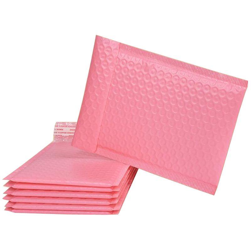25 * 30 سنتيمتر فقاعة توسيد التفاف فقاعات الذاتي الختم البريد مبطن مغلفات مبطن مع أكياس البريد حزم هدية حقيبة الوردي