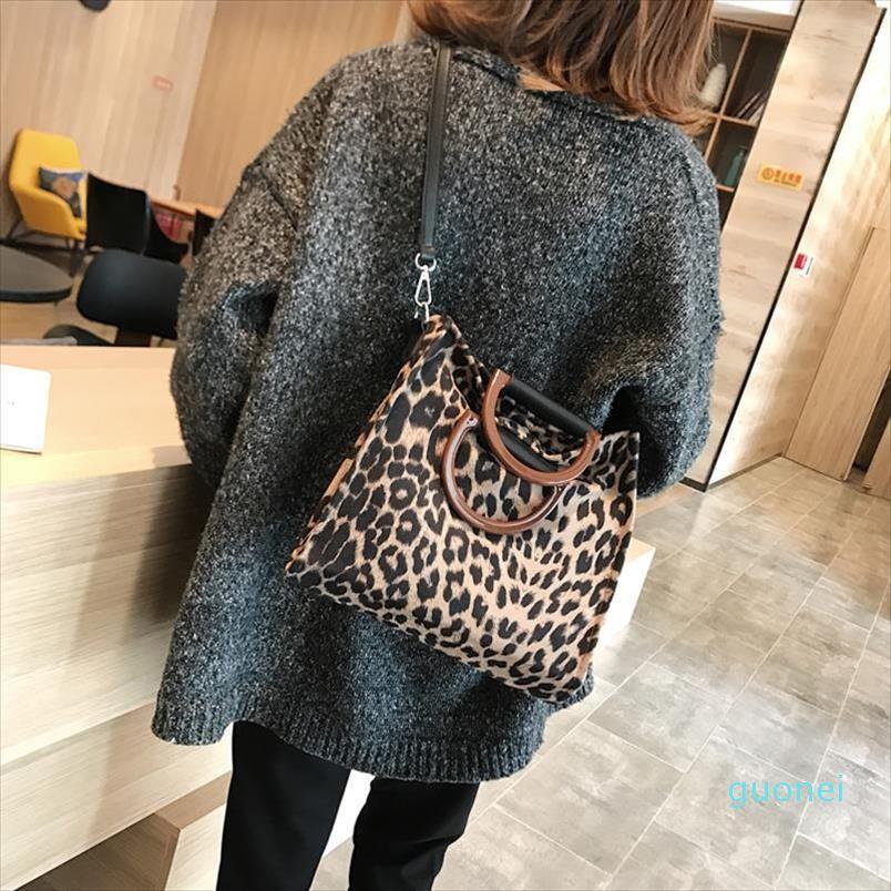 2021 mulher hotsaled leopard sacola bolsas de lona desenhista com alça de ombro saco mulheres saco crossbody bolsa