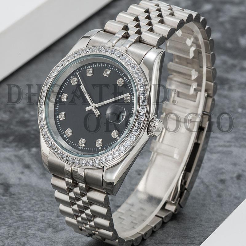 Montre de Luxe Mens Автоматические механические часы 41 мм Полная из нержавеющей стали Sapphire Super Luminous 5ATM водонепроницаемый U1 заводские наручные часы 2021