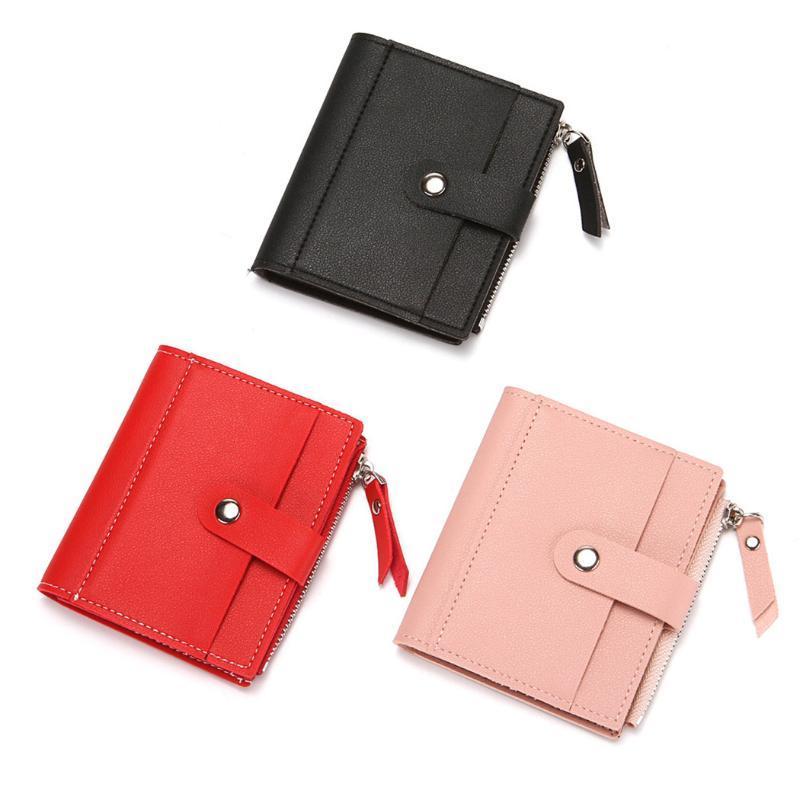 Wallets Vintage Women Wallet PU Leather Short Male Multifunctional Cowhide Purse Coin Pocket Driver License Card Holder