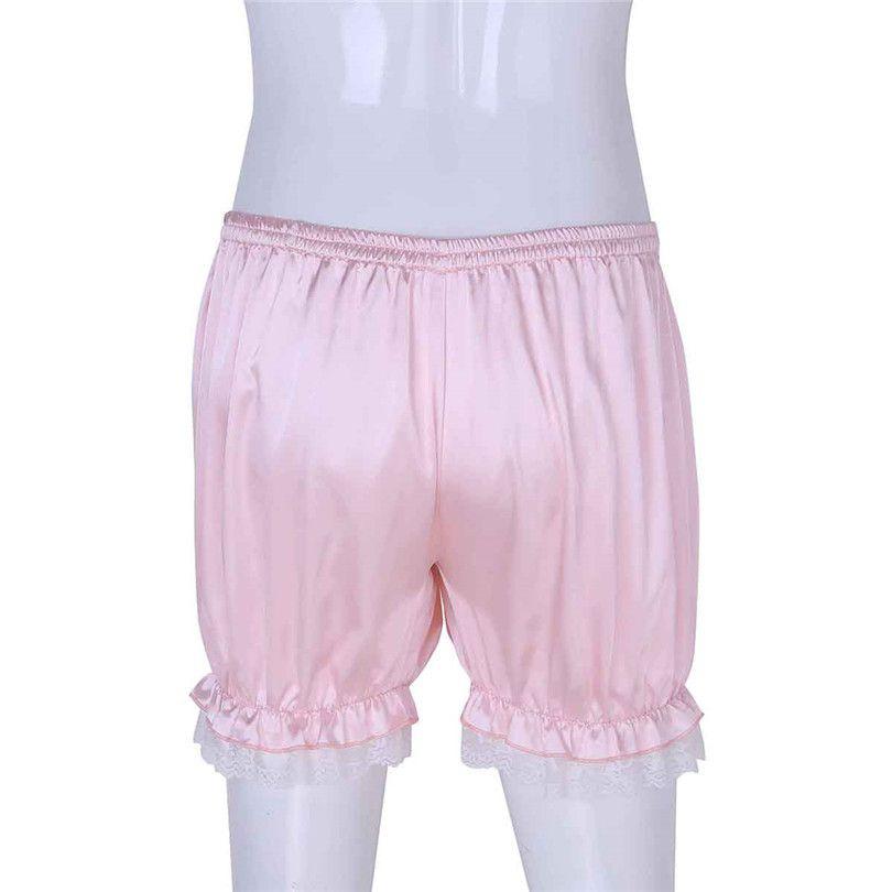 Nouvelle Arrivée Fashion Confortable Homme Homme Bloomers Knickers Shorts Panties Casual Summer Shorts Lounge Jogger Pantalon court L0221