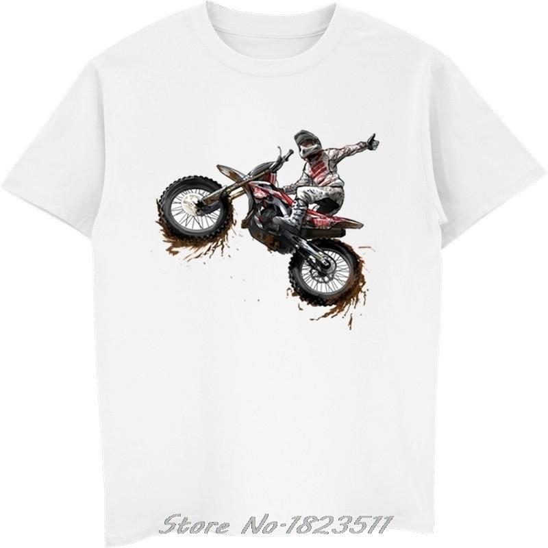 Moto Tete de Mort 3D bedruckt Herren T-shirts Mode Sommer cooles Hipster T-shirt Motorrad Kurzarm T-Shirt Plus Größe Y200422