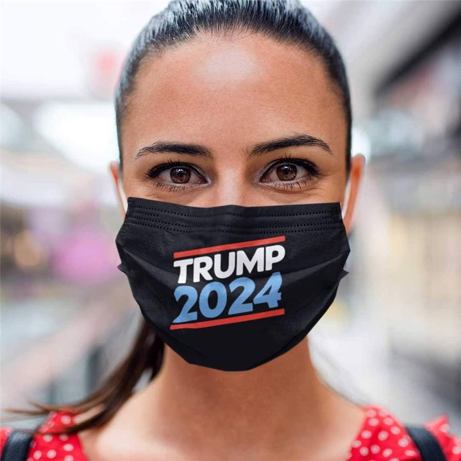 Трамп 2024 многоразовая моющаяся маска для лица нетканые ткани пылезащитные дышащие дышащие маски оптом