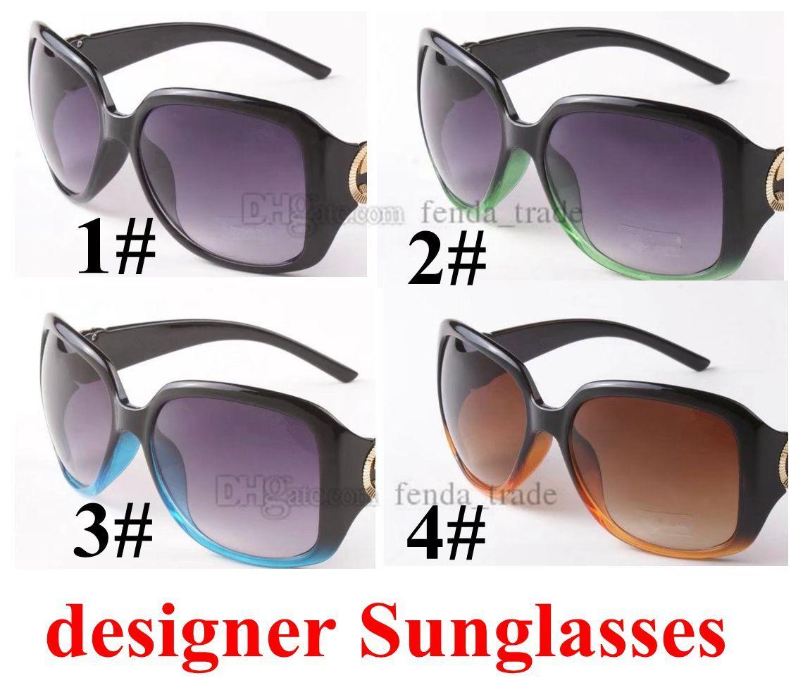 Neue Mode Sonnenbrille Frau Sonnenbrille Mode Große Rahmen Sonnenbrille Damen Trendgläser UV400 Fabrikpreis MOQ = 10 stücke
