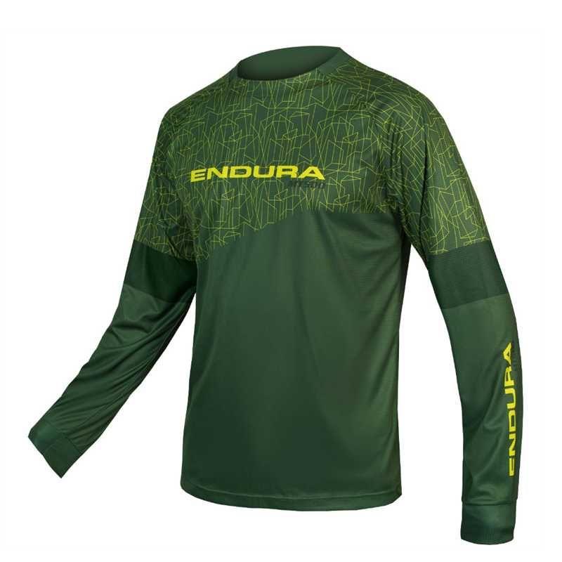 Гоночные куртки Endura Велоспорт Длинные рукава Джерси Мужская Велосипедная Одежда Pro Команда MTB ROPA Велосипедная одежда