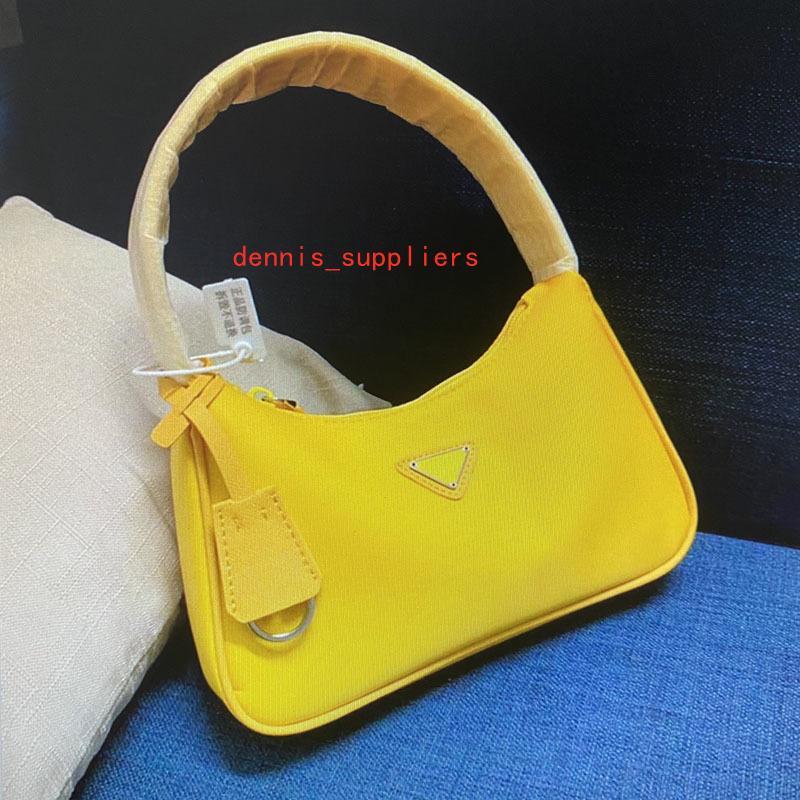Wholesale saco de ombro único hobo lona bolsa vintage moda peito pacote bolsas bolsas para mulheres 1N515 Nylon Reedition Messenger Bag