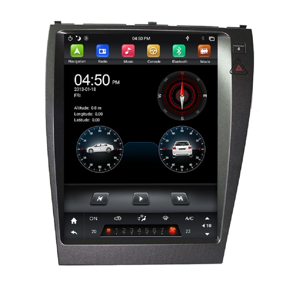 """Tesla 스타일 PX6 12.1 """"Android 9.0 자동차 DVD 플레이어 용 Lexus ES240 ES350 2006-2012 DSP 라디오 블루투스 5.0 GPS WiFi Easy Connect"""