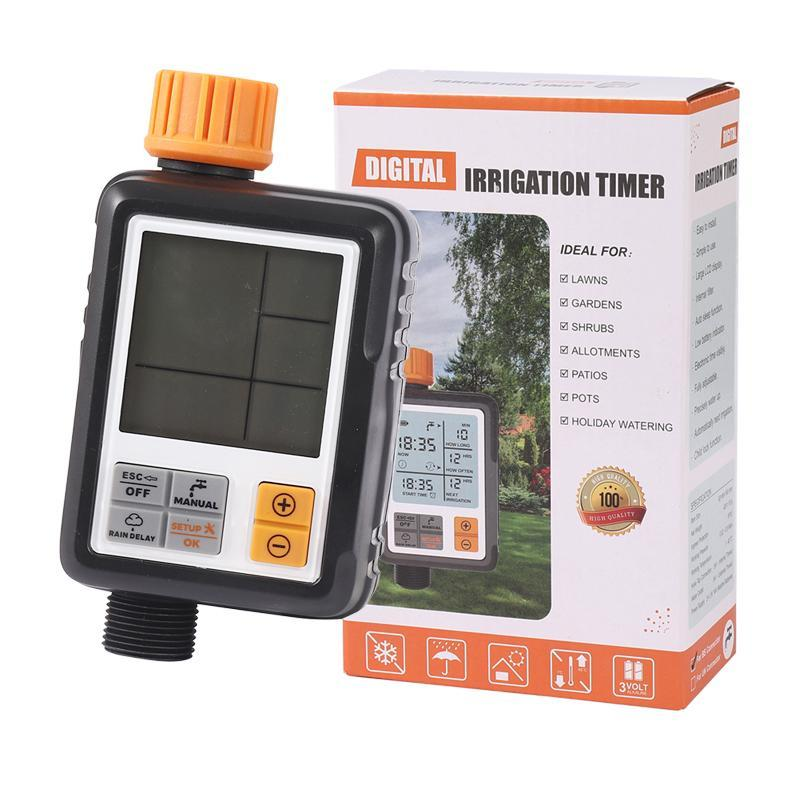 Irrigation Controller Waterproof Garden Watering Timer Automatic Garden Watering System