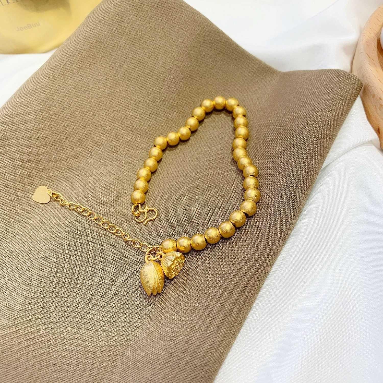 Kişilik çok yönlü shajin uzun ömürlü transfer boncuk güzel küçük lotus kolye mizaç bilezik