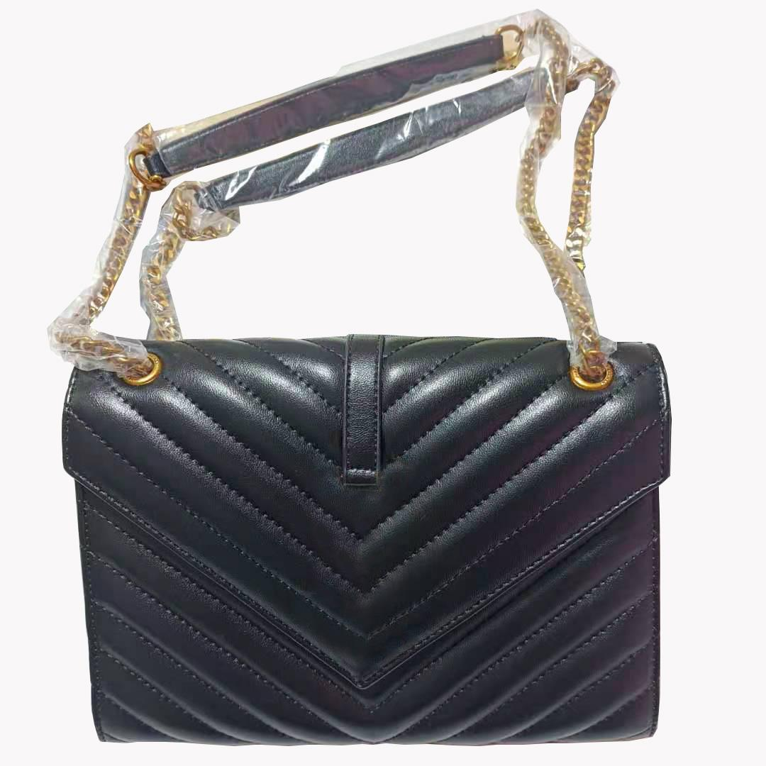 عالية الجودة بو ماركة معروف السيدات حقيبة الكتف الفاخرة مصمم جلدية سلسلة معدنية حك خطابات البرية الصليب الجسم حقيبة محفظة عملة محفظة تسليم سريع