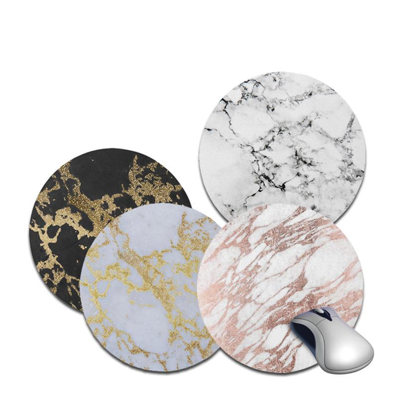 Non-slip Gaming Mouse Pad Marble Keyboard Mat Desk Durable Desktop High Quality Rubber For Computer Laptop