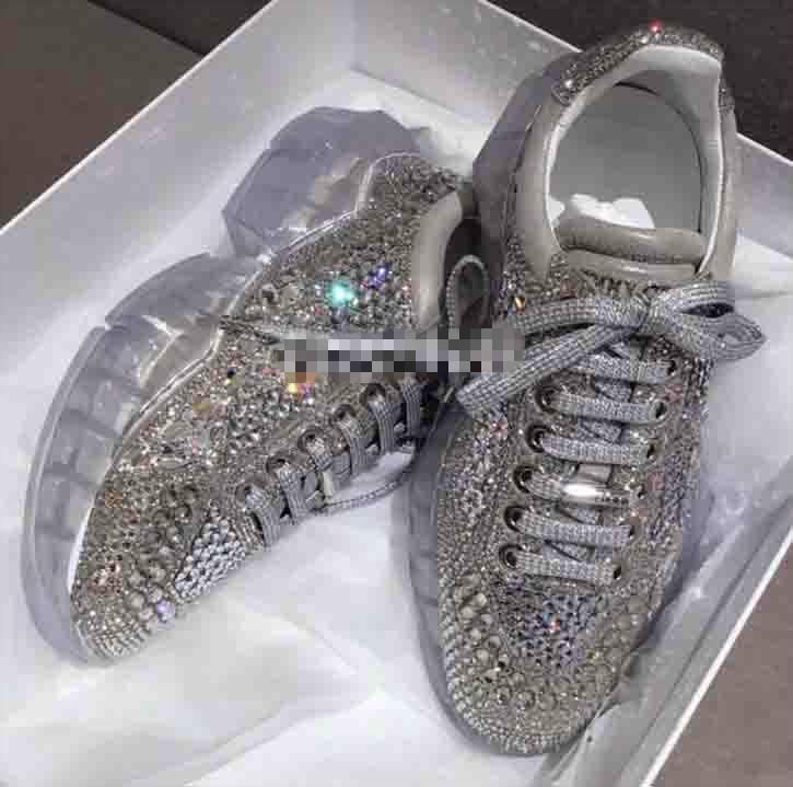 Pariser Kristallboden Triple-s Freizeitschuhe Luxus Vati Schuhe Plattform Triple S Turnschuhe für Männer Frauen Vintage Kanye Old Old Opa Trainer