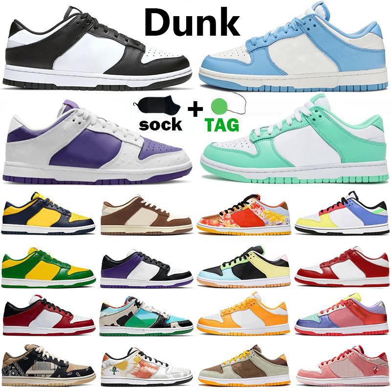 Low dunk Chunky Dunky hommes femmes chaussures de course Kentucky University Red Green Bear Syracuse Chicago Valentines Day noir blanc femmes formateurs baskets 36-45