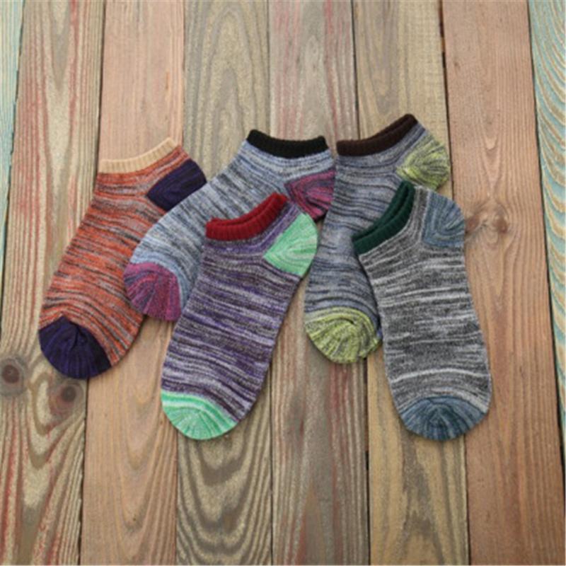2021 Новое Прибытие Летний Хлопок Человек Короткие Носки Мода Дышащая Человек Лодка Носки Удобные Повседневные Мужские Горячие Продажи