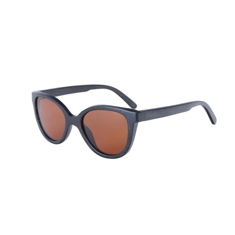 Masculino поляризованные бамбуковые очки женщины оригинальные солнцем деревянный поляризованный бренд древесины де очки очки SOL солнцезащитные очки JTTKK