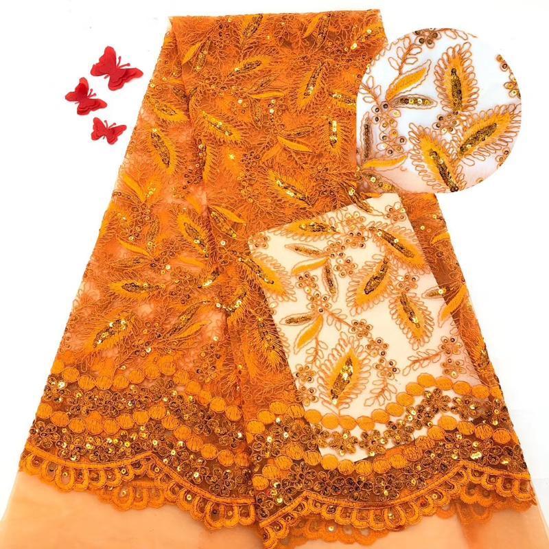 Design de fita Nigerian Wedding Lace 2021 Africano Francês Net Malha Pedras Frisadas Tecido de Alta Qualidade Para Vestidos