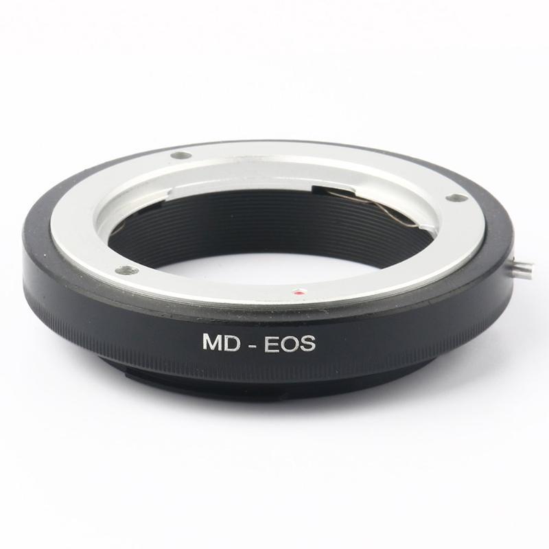 a adaptador macro de alta precisión para el anillo adaptador MD-EOS para Minolta MD / MC Lens Cuerpo exquisitamente diseñado exquisitamente