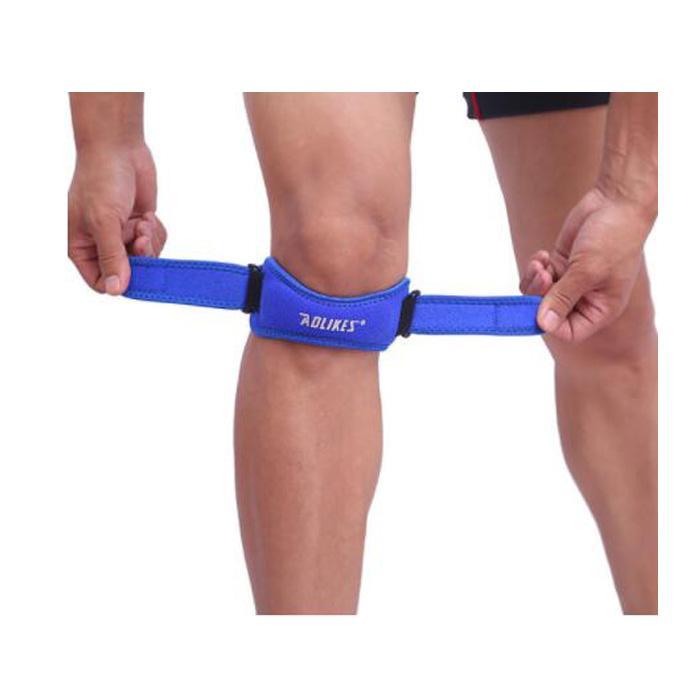 Novas almofadas ajustáveis dos joelhos mulheres esporte esporte ao ar livre executando dano de basquete prevenir vermelho azul rosa cores preto 1 pcs