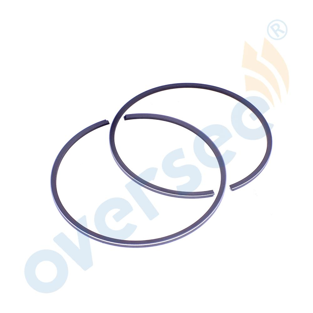 Supervainement64d-11603-01-90 Piston Ring pour Yamaha hors-bord 64D-11603 200HP - 250HP V6 90mm std