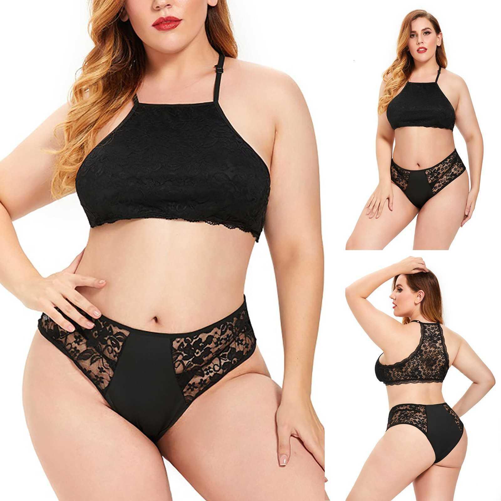 Nouveau BH Set Femme Sexy Plus Taille Lingerie Ee Sous-vêtements Élégant Nuit Vêtements