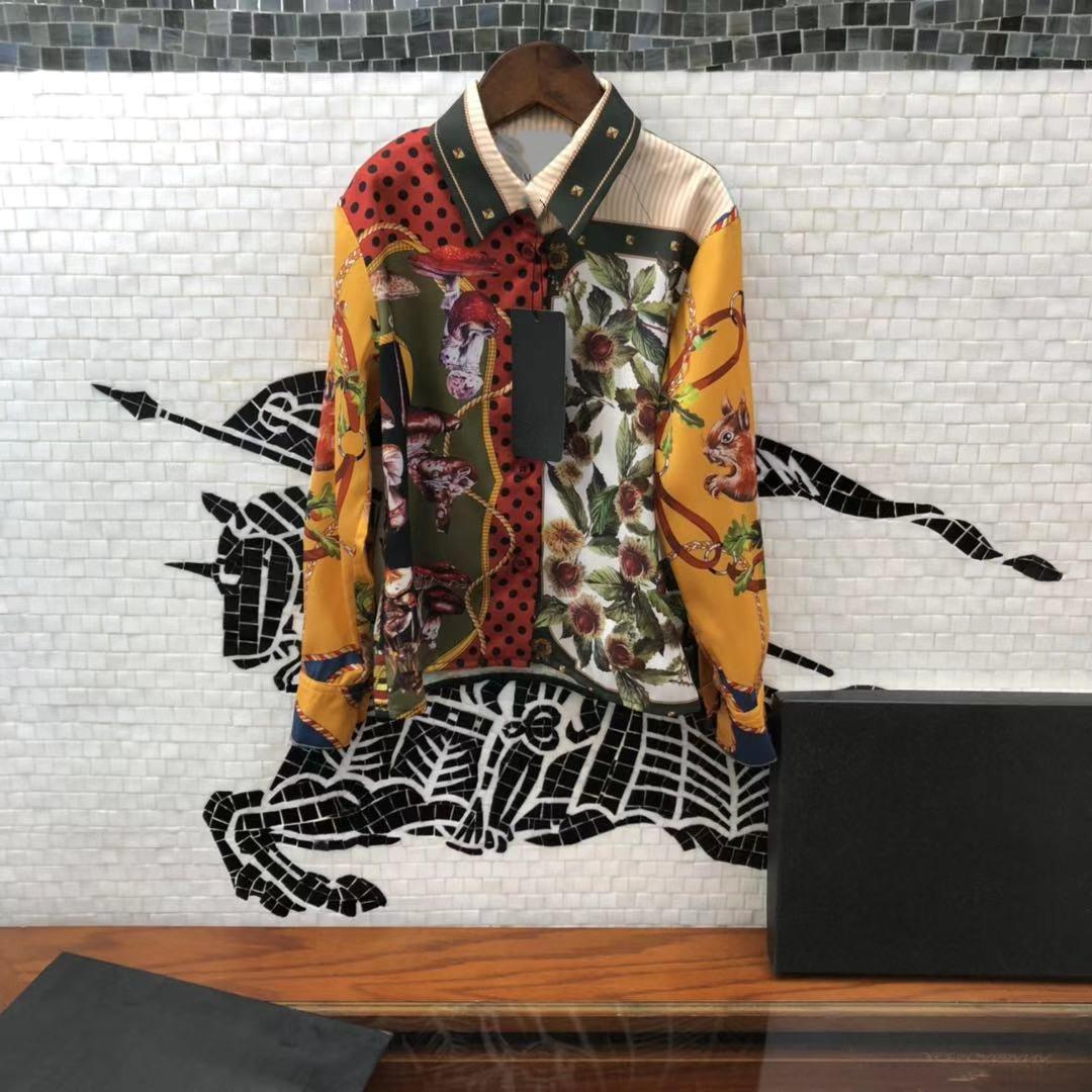 Desginer Bambini Abbigliamento per la camicia di Abbigliamento Primavera 2021 Abito primaverile Nuovo stile Stile Stile straniero Cardigan Principessa stile straniero per bambini