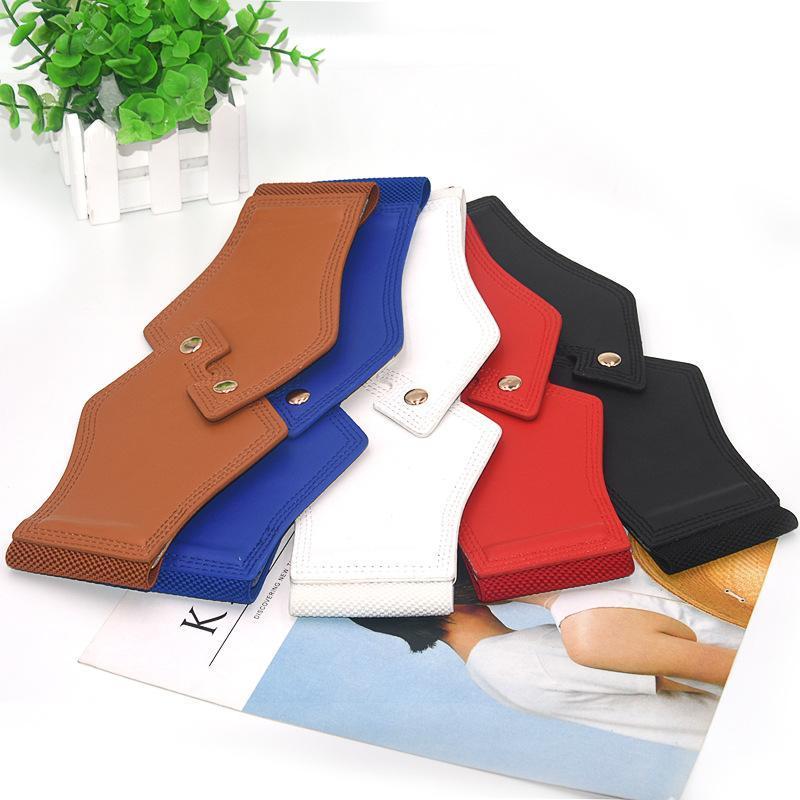 Cinture femmina selvaggio cinturino semplice semplice moda moda sottile corsetto cappotto pelliccia vita cintura accessori ad alto elastico cummerbund