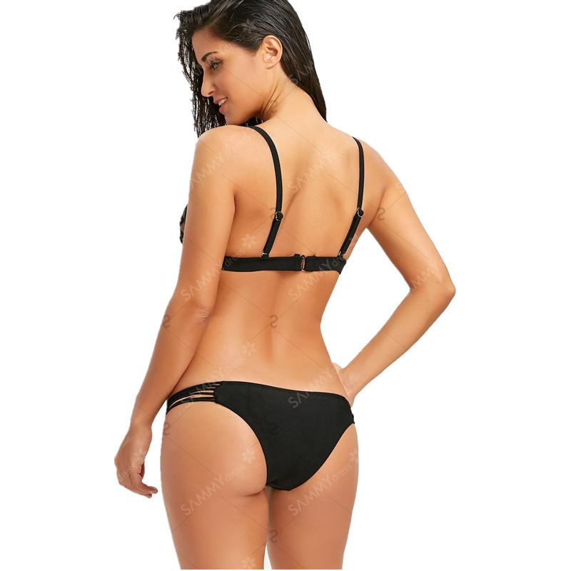 109Printed Set Sexy Swimwear Frauen 2021 Mujer Push Up Gepolsterte Biquini Badetube Banage Badeanzug Badeanzug Bikini