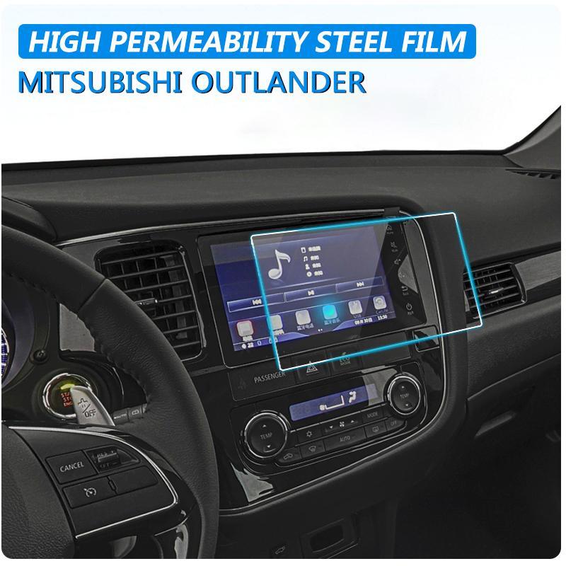 152 * 85 мм для Mitsubishi Outlander 2016 2017 2019 2019 автомобиль GPS навигационная стеклянная стальная защитная пленка